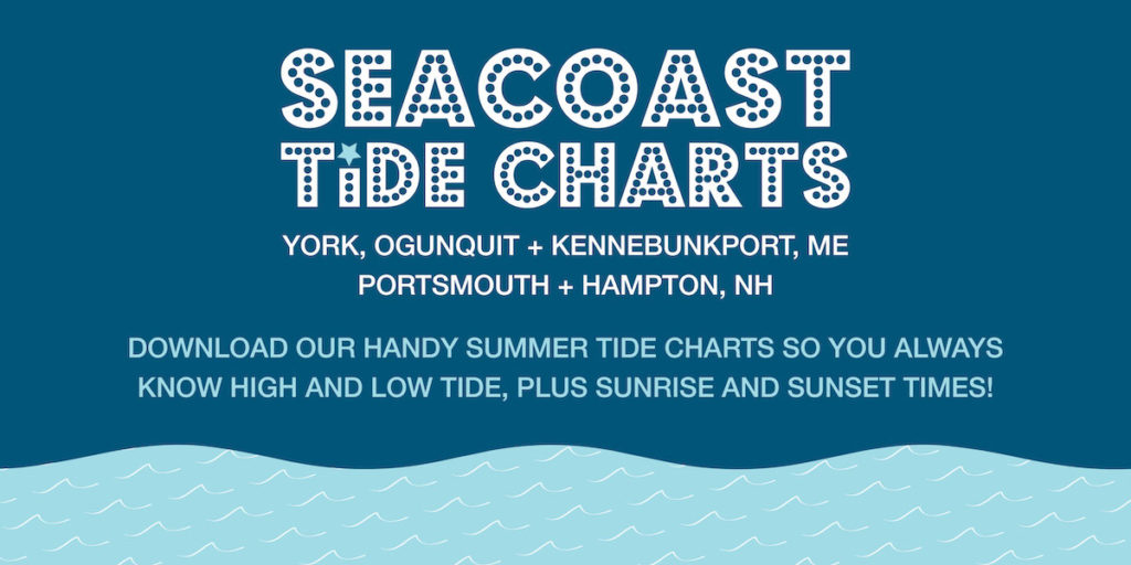 seacoast beaches tide chart